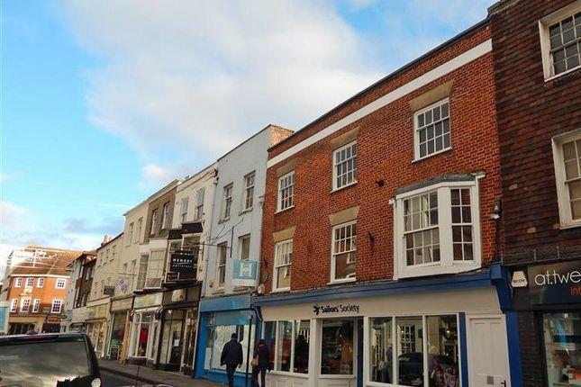 Thumbnail Flat to rent in Catherine Street, Salisbury, Wiltshire