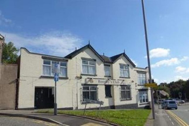 Restaurant/cafe to let in Boothys Club, Mansfield