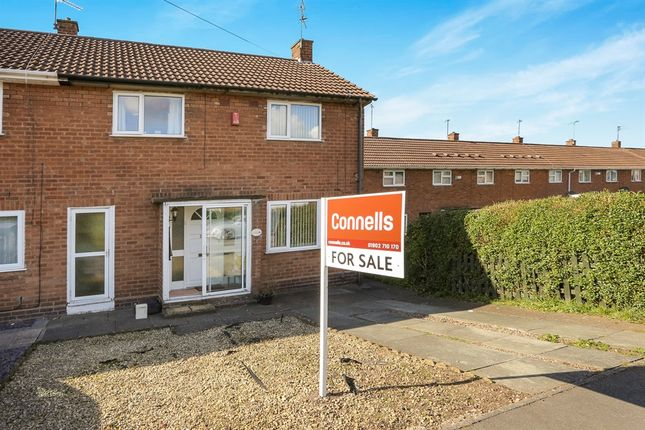 Thumbnail End terrace house for sale in Renton Road, Oxley, Wolverhampton
