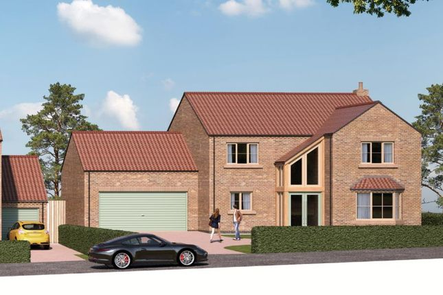 Thumbnail Detached house for sale in Hill House, Field View, Copt Hewick, Ripon