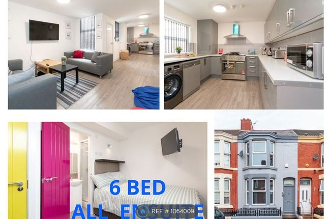 Thumbnail Terraced house to rent in Leopold Road All Ensuite, Kensington, Liverpool