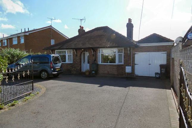 Thumbnail Detached bungalow for sale in Drury Lane, Drury, Flintshire