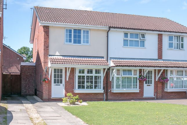 Thumbnail Semi-detached house for sale in Lordswood Close, Redditch