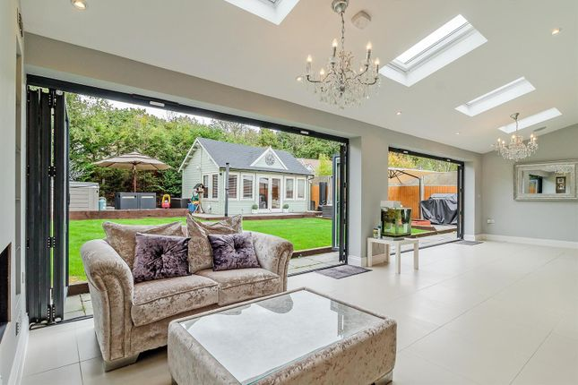Thumbnail Detached house for sale in Marconi Gardens, Pilgrims Hatch, Brentwood