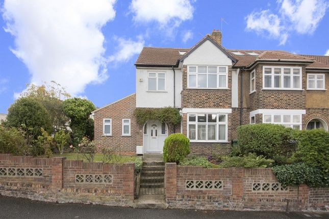 Thumbnail End terrace house for sale in Bramshot Avenue, London