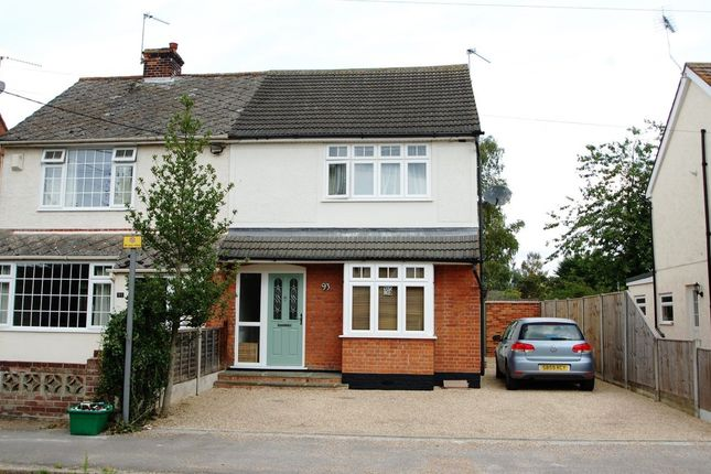 Thumbnail Semi-detached house for sale in Chapel Road, Tiptree, Colchester