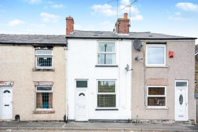 Thumbnail Terraced house for sale in Cemetery Road, Danesmoor, Chesterfield, Derbyshire
