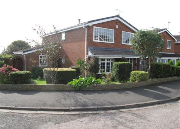 Thumbnail Detached house for sale in Windermere, Cleadon, Sunderland