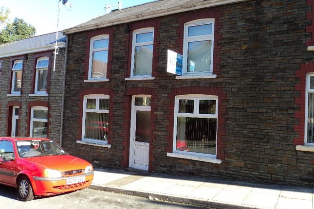 Thumbnail Terraced house for sale in 5 Caedu Road, Ogmore Vale, Bridgend.