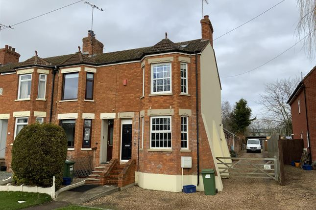 Thumbnail End terrace house for sale in London Road, Newport Pagnell