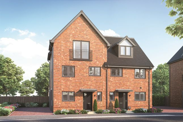 3 bed semi-detached house for sale in Goodwood Crescent, Crowthorne RG45