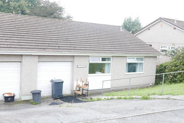 Thumbnail Semi-detached bungalow to rent in Woodgate Road, Liskeard, Cornwall