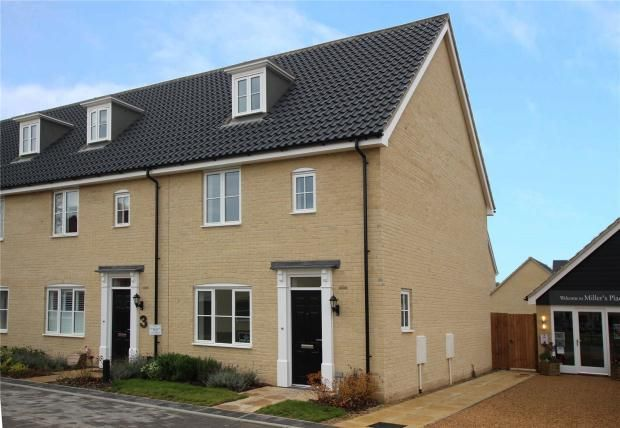 Thumbnail Terraced house for sale in St James' Park, Ely, Cambridgeshire