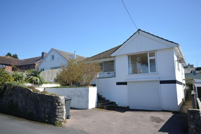 Thumbnail Detached bungalow for sale in Ferndale Road, Teignmouth, Devon