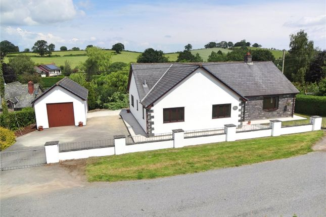 Thumbnail Bungalow for sale in Llanmerewig, Abermule, Montgomery, Powys