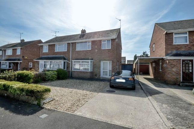 Thumbnail Semi-detached house for sale in Hatherley Road, Swindon