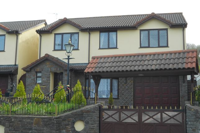 Thumbnail Detached house to rent in Porthcawl Road, South Cornelly
