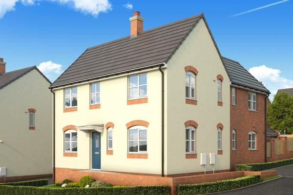 "Thumbnail Property for sale in ""The Nightingale At Malvern View, Bartestree"" at The Rose Garden, Ledbury Road, Hereford"
