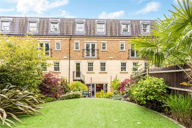Thumbnail Terraced house for sale in Haines Court, Weybridge, Surrey