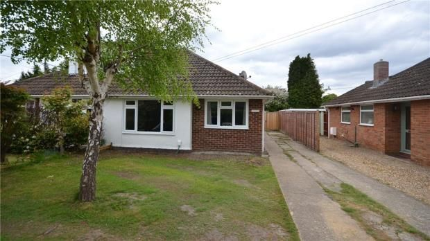 Thumbnail Semi Detached Bungalow For Sale In Cranford Park Drive Yateley Hampshire