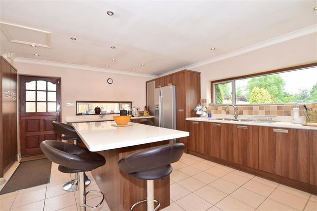 Thumbnail Detached bungalow for sale in Stapleford Road, Stapleford Abbotts, Romford, Essex