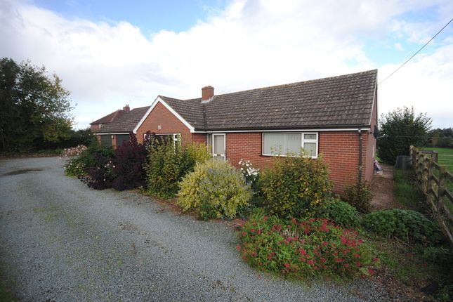 Thumbnail Detached bungalow to rent in Wollerton, Market Drayton
