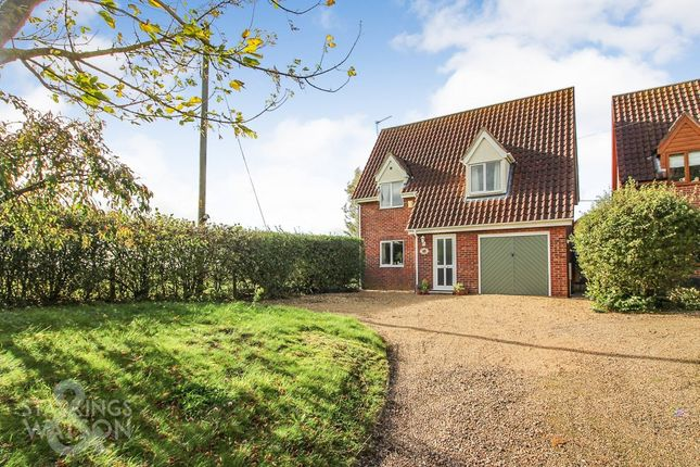 Thumbnail Detached house for sale in Chapel Road, Bunwell, Norwich