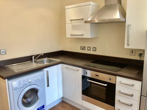 Kitchen of Rutland Street, Leicester, Leicestershire, England LE1