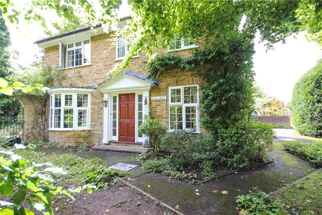 Thumbnail Detached house for sale in Branksomewood Road, Fleet