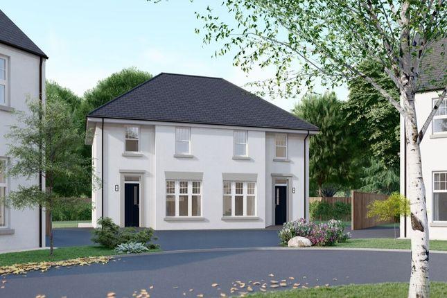 3 bed semi-detached house for sale in - The Callan, Ashbourne Manor, Belfast Road, Carrickfergus BT38