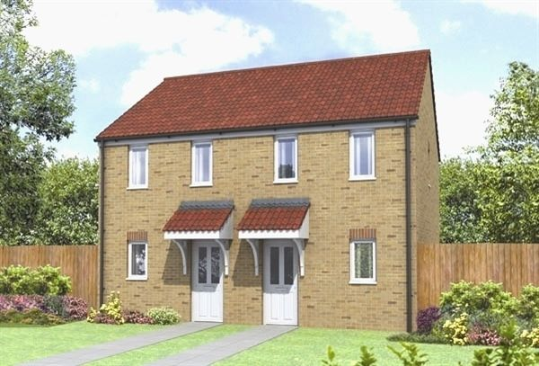 "Thumbnail End terrace house for sale in ""The Morden"" at Church Hill Terrace, Church Hill, Sherburn In Elmet, Leeds"