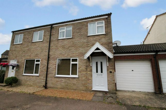 Thumbnail Semi-detached house for sale in Porter Road, Long Stratton, Norwich