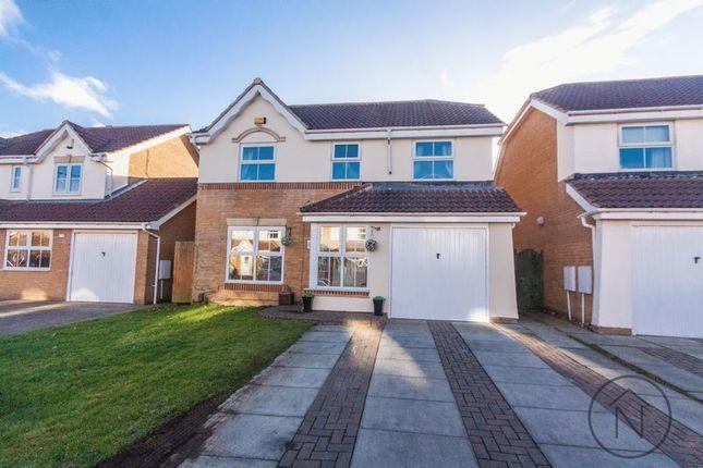 Thumbnail Detached house for sale in Bonington Crescent, Billingham