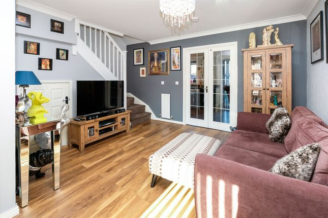 Thumbnail Link-detached house for sale in Saturn Road, Ipswich