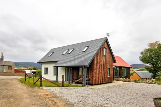 Thumbnail Detached house for sale in Kildrummy, Alford