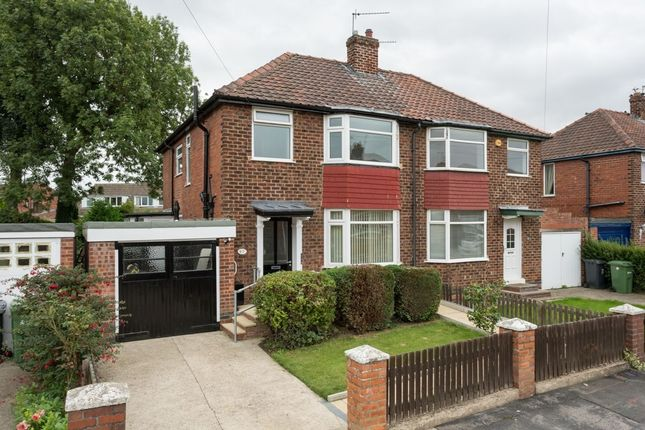 Thumbnail Semi-detached house for sale in Collingwood Avenue, Holgate, York