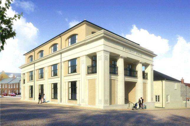 Thumbnail Flat for sale in Flat 4 Pouncy Hall, Liscombe Street, Poundbury, Dorchester