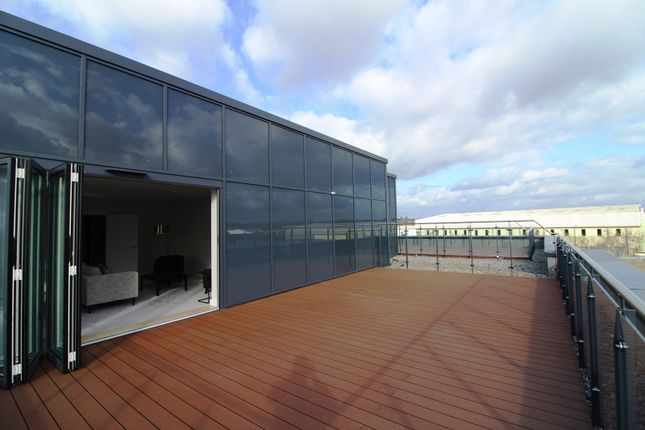 Roof Terrace of Harlequin House, Padworth Avenue, Reading RG2