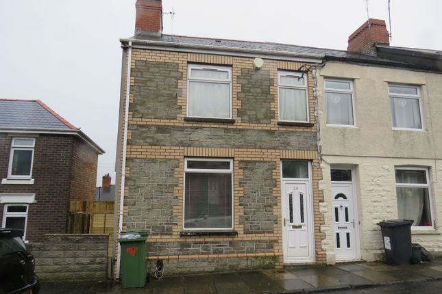 Thumbnail End terrace house for sale in Chesterfield Street, Barry