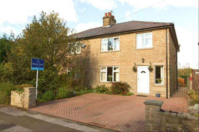 Thumbnail Semi-detached house for sale in Swanscoe Avenue, Bollington, Macclesfield
