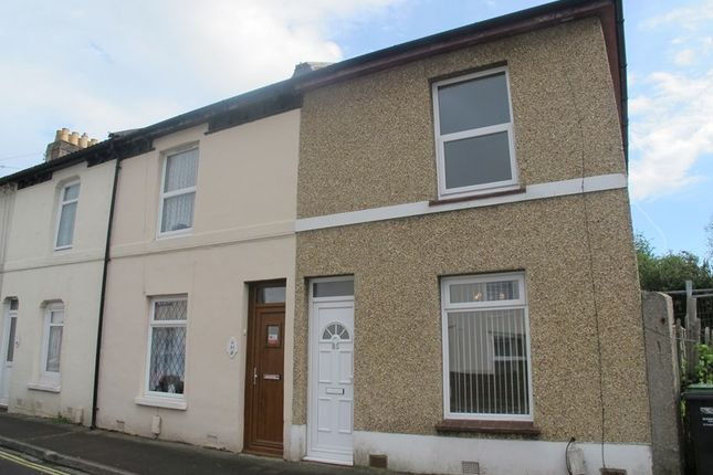 Thumbnail End terrace house to rent in Leesland Road, Gosport