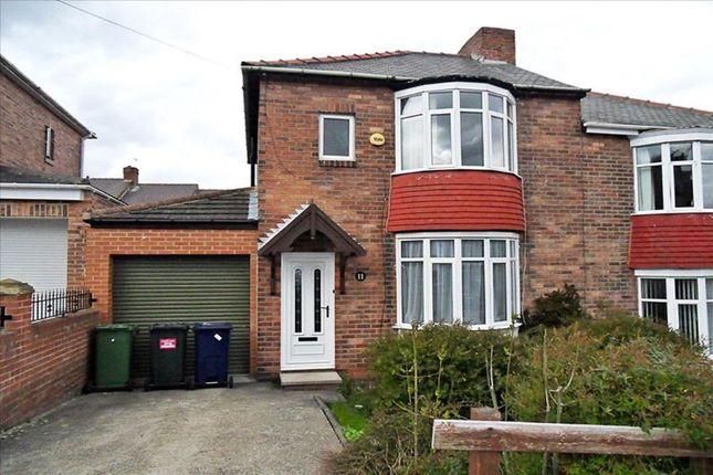 Thumbnail Semi-detached house to rent in Clover Avenue, Winlaton Mill, Blaydon-On-Tyne