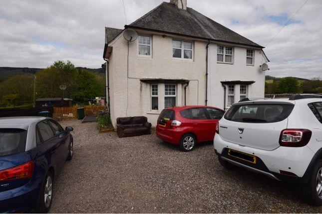Thumbnail Semi-detached house for sale in Aberfeldy