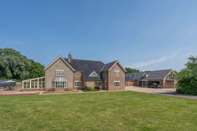 Thumbnail Detached house for sale in Wick Lane, Rollesby, Great Yarmouth
