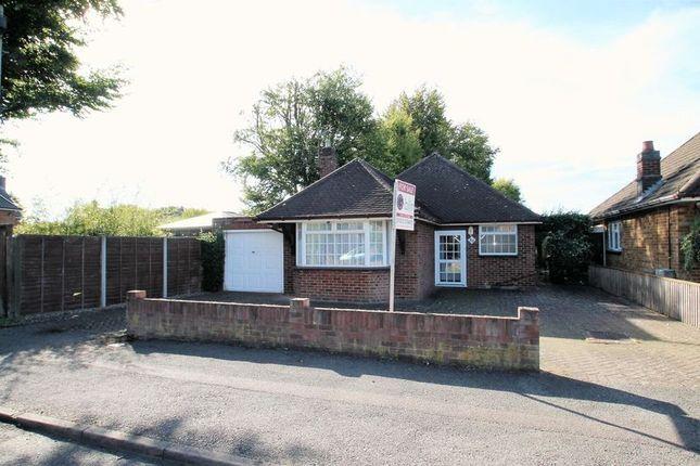 Thumbnail Detached bungalow for sale in Beacon Avenue, Dunstable, Bedfordshire