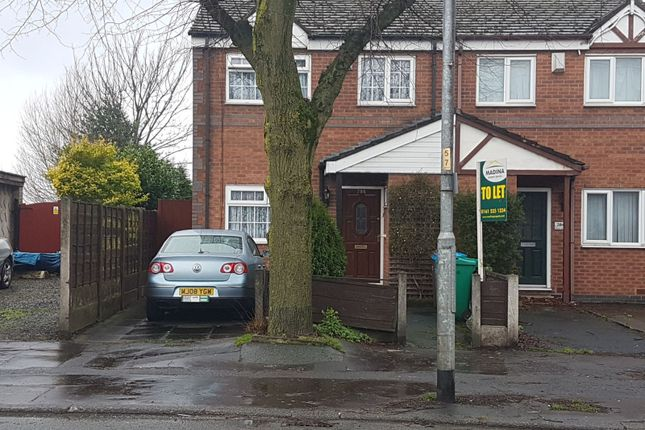 Thumbnail Semi-detached house to rent in Mount Road, Manchester