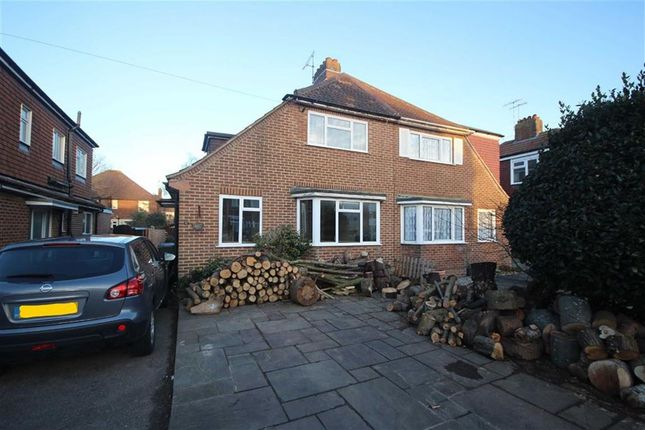 Thumbnail Semi-detached house for sale in Bruce Avenue, West Worthing, West Sussex
