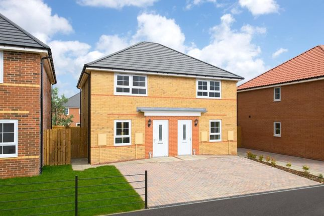 """Thumbnail Semi-detached house for sale in """"Kenley"""" at St. Benedicts Way, Ryhope, Sunderland"""