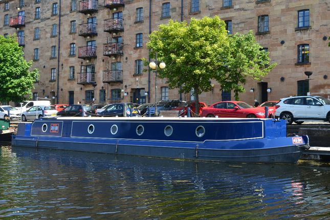 Thumbnail Houseboat for sale in Speirs Wharf, Port Dundas, Glasgow