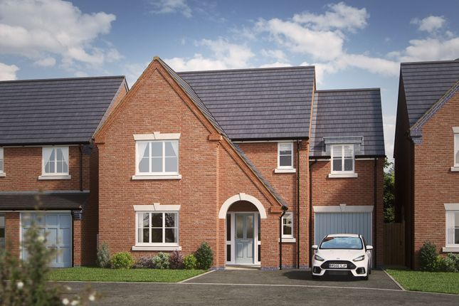 Thumbnail Detached house for sale in The Holmwood, Off Magdalene Drive, Mickleover, Derby